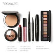 FOCALLURE-8Pcs-Cosmetics-Makeup-Set-Powder-Eye-Makeup-Eyebrow-Pencil-Volume-Mascara-Sexy-Lipstick-Blusher-Tool (3)